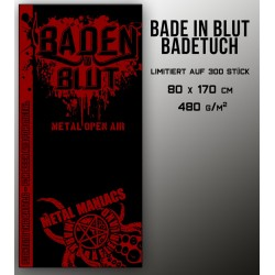 Bathtowel BADEN IN BLUT
